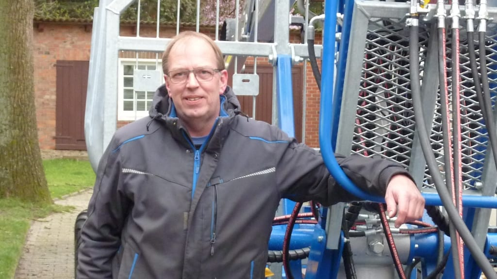 Andreas Könemann, Geschäftsführer der Könemann Forsttechnik GmbH in 29643 Neuenkirchen