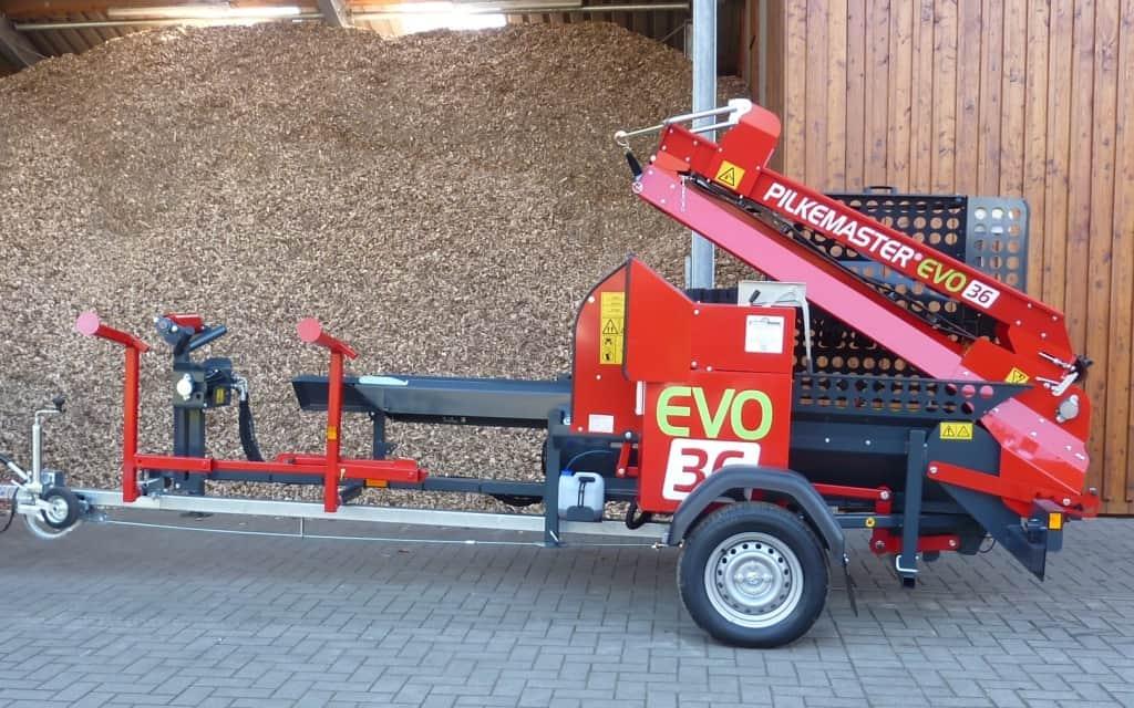 PILKEMASTER EVO 36 Säge-Spalt-Automat