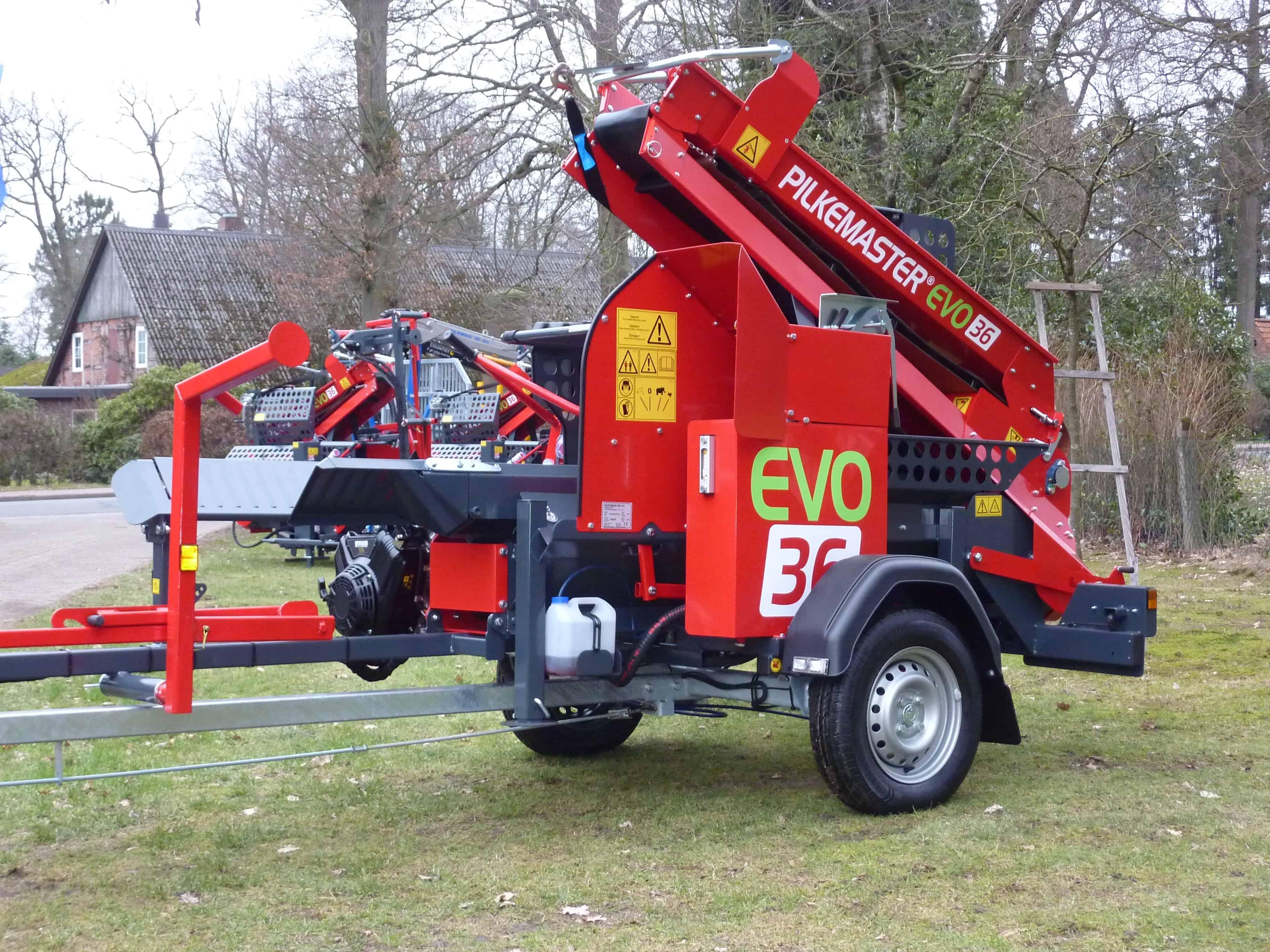 PILKEMASTER® EVO 36 Sägespaltautomat mobil bei Forsttechnik Könemann GmbH, 29643 Neuenkirchen