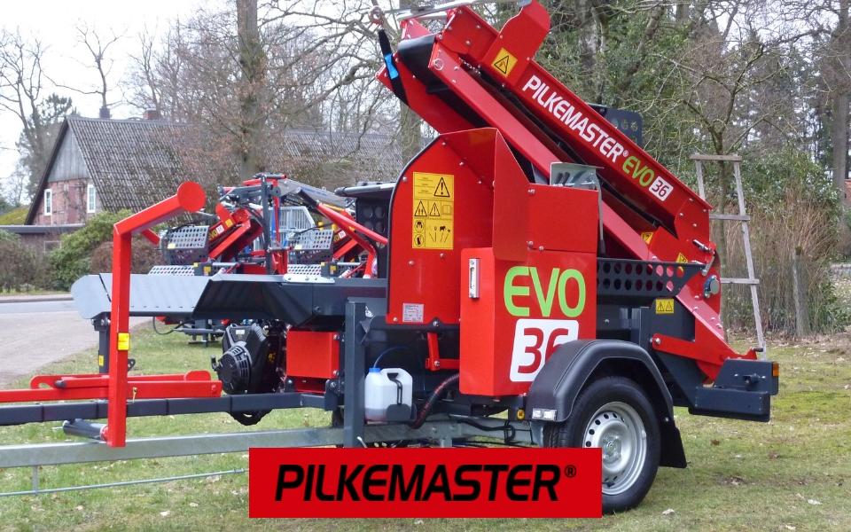 PILKEMASTER® Säge-Spaltautomaten bei Forsttechnik Könemann in 29643 Neuenkirchen