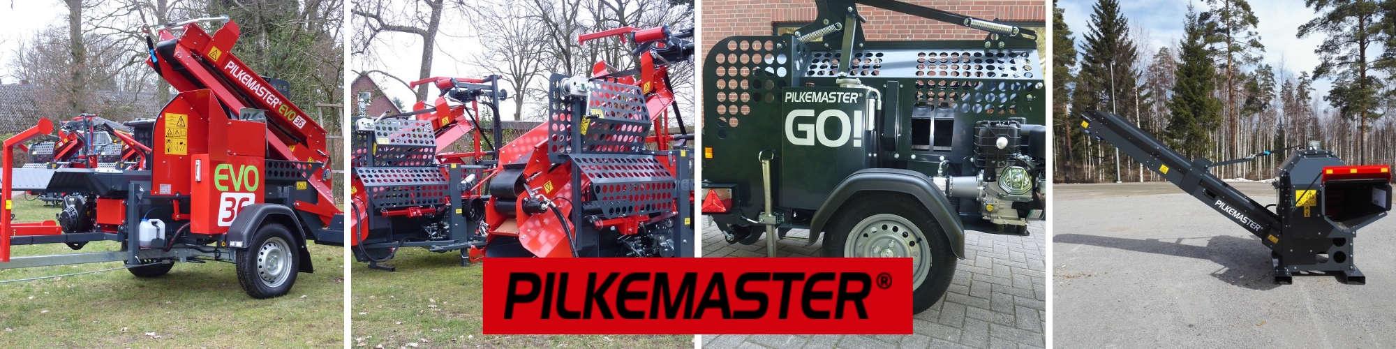 Säge-Spalt-Automaten von PILKEMASTER® bei Forsttechnik Könemann GmbH