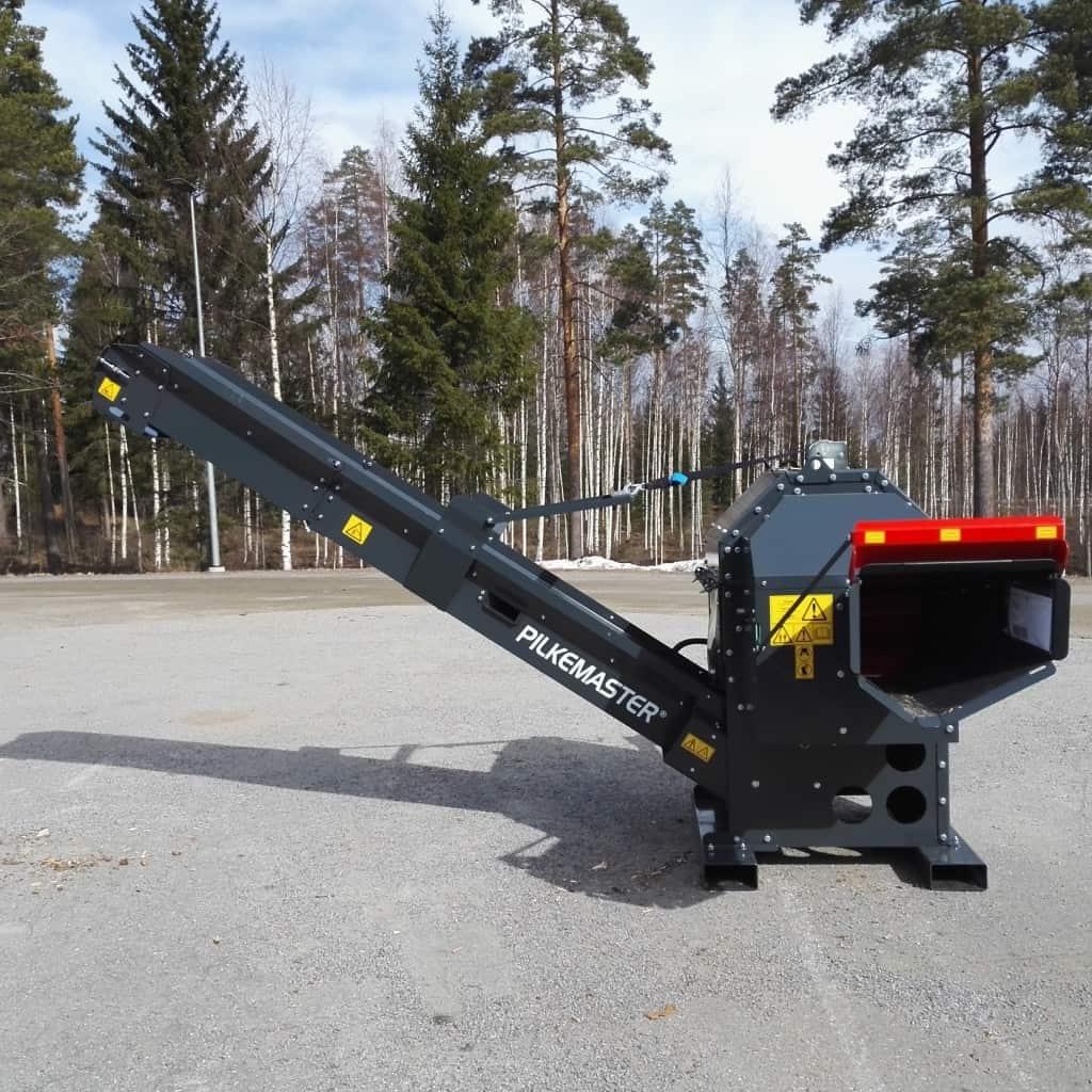 Automatische Brennholzgewinnung mit dem PILKEMASTER® SUPER