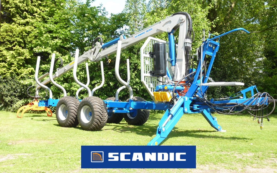 SCANDIC-Holzrückewagen bei Forsttechnik Könemann in 29643 Neuenkirchen