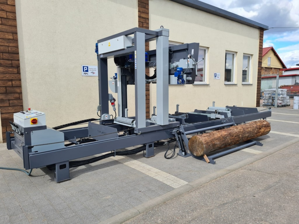 TRAK-MET TTP-600 Premium Plus Sägewerk